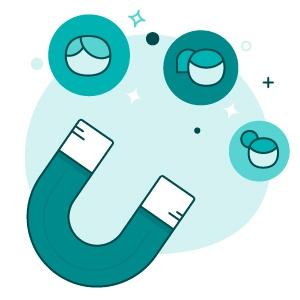 software sales funnel - trek leads aan en verzamel contactgegevens